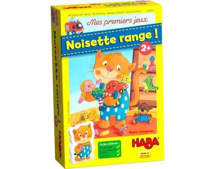 HABA Mes premiers jeux - Noisette range - Dès 2 ans