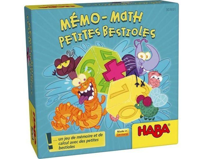 HABA Mémo-math Petites bestioles - Dès 6 ans