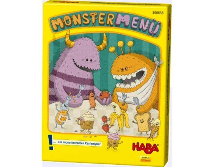 HABA Monster menu - Dès 6 ans