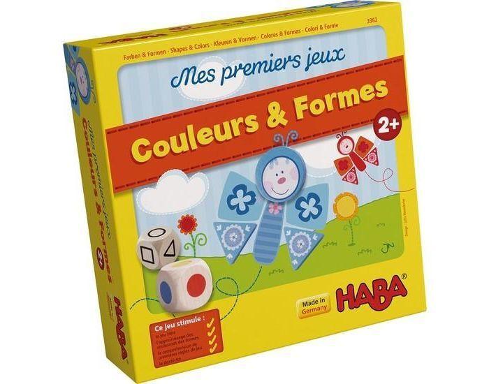 HABA Mes Premiers jeux : Couleurs et formes - Dès 2 ans