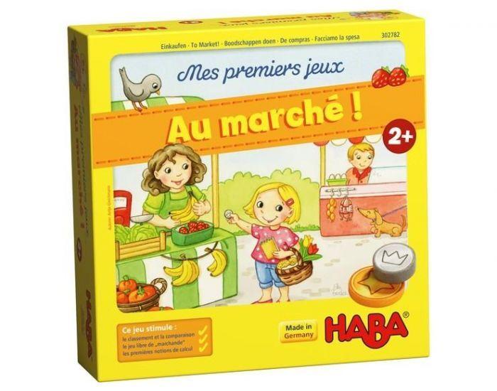 HABA Mes premiers jeux : au marché ! - Dès 2 ans