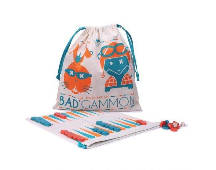 LES JOUETS LIBRES Jeu de Backgammon en Bois - Dès 6 ans