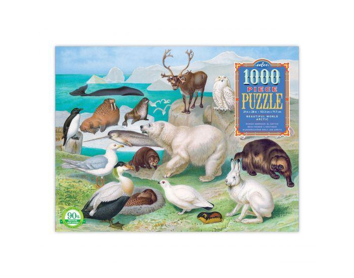 EEBOO Puzzle 1000 Pièces - Le Monde Arctique - Dès 8 ans