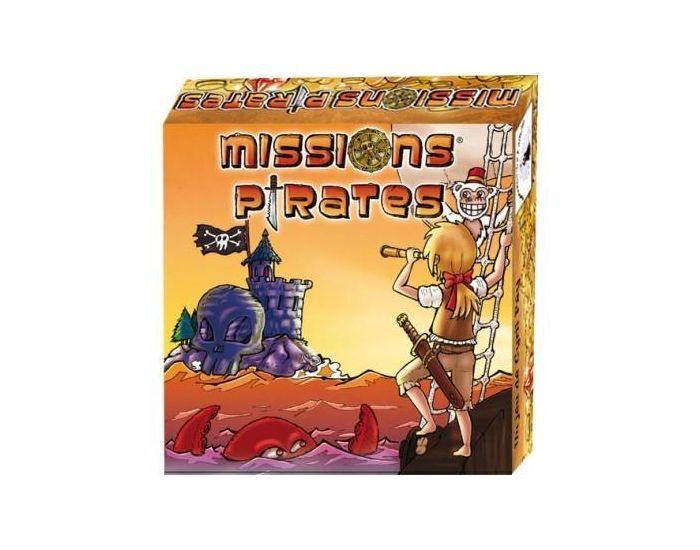 SANDRA MOREIRA EDITIONS Missions pirates - Dès 6 ans