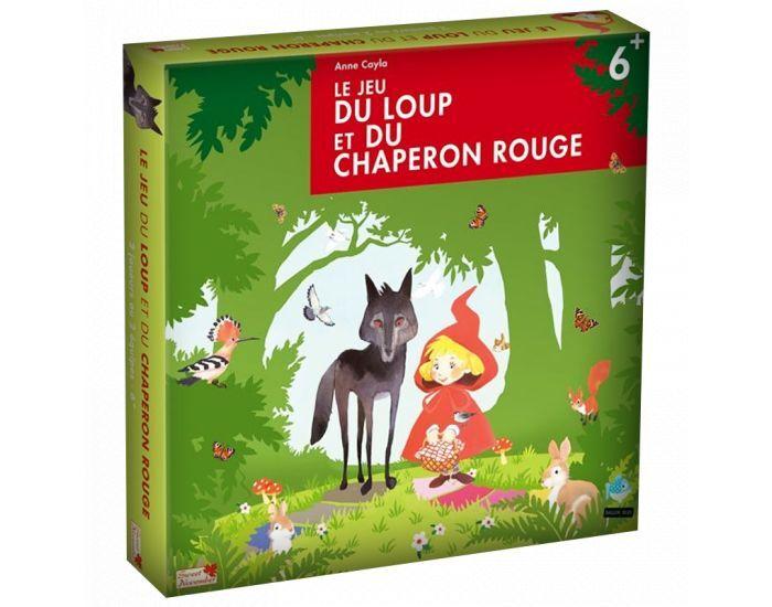 PIXIE GAMES Le jeu du loup et du chaperon rouge - Dès 6 ans