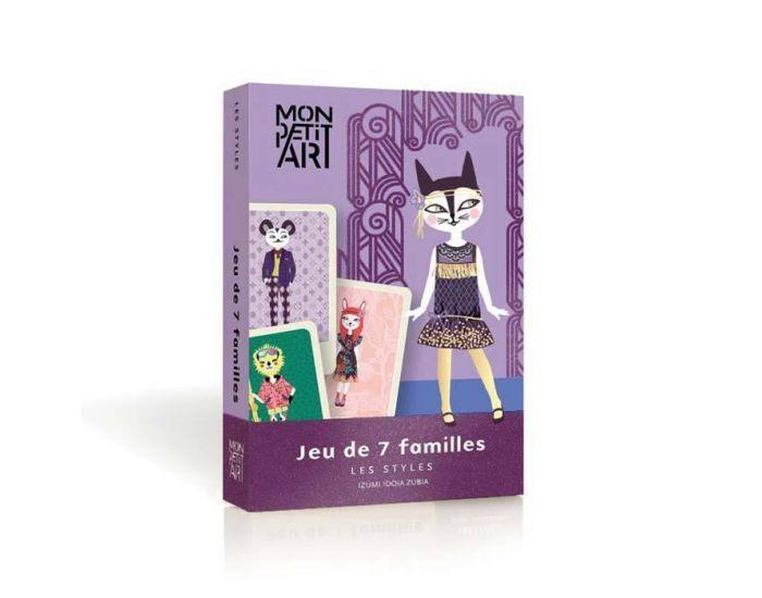 ART MON PETIT ART Jeu de 7 familles - Les Stylés - Dès 3 ans