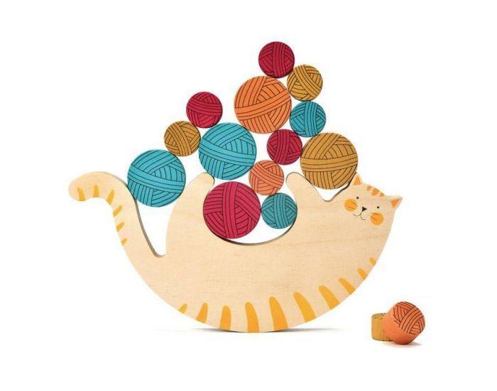 LONDJI Meow le Chat - Jeu d'Équilibre - Dès 3 ans