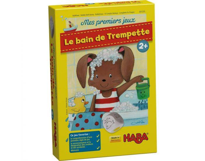 HABA Premiers Jeux - Le Bain De Trempette - Dès 2 ans