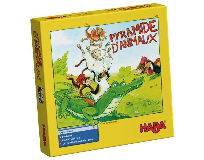 HABA Pyramide D'Animaux - Dès 4 ans