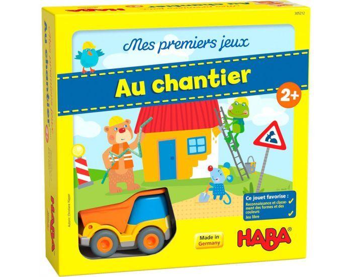HABA Mes Premiers Jeux - Au Chantier - Dès 2 Ans