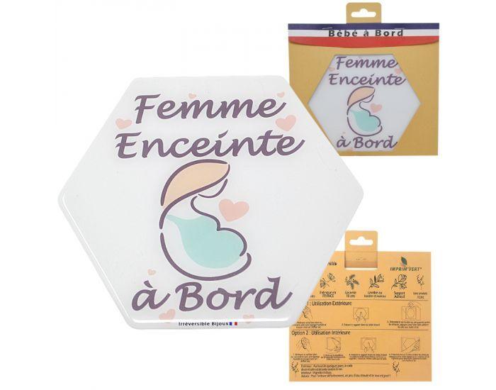 IRREVERSIBLE BIJOUX Adhésif femme enceinte à bord