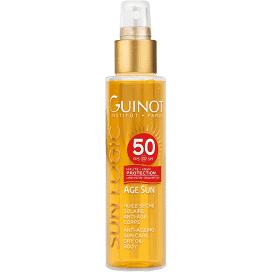 Guinot Huile sèche solaire anti âge SPF 50 - 150 ml