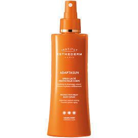 Esthederm solaire Adaptasun spray lacté pour le corps soleil fort 150 ml + Un Prolongateur 30 ml offert dès l'achat de 2 produits et + dans la gamme Solaire Esthederm