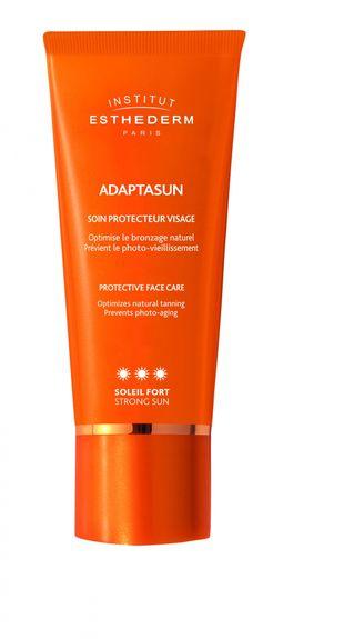 Esthederm solaire adaptasun crème pour le visage Soleil Fort 50 ml + Un Prolongateur 30 ml offert dès l'achat de 2 produits et + dans la gamme Solaire Esthederm