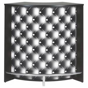 Simmob Meuble Comptoir Bar Acceuil Noir 107 cm - Publicité