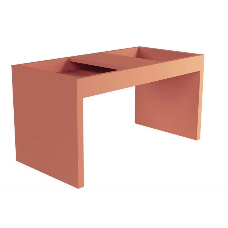 Caemmum Table Basse Rectangle 68 cm Brique