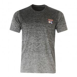 adidas T-Shirt adidas dégradé gris/noir 18/19  - XS OL - Foot Lyon - Publicité