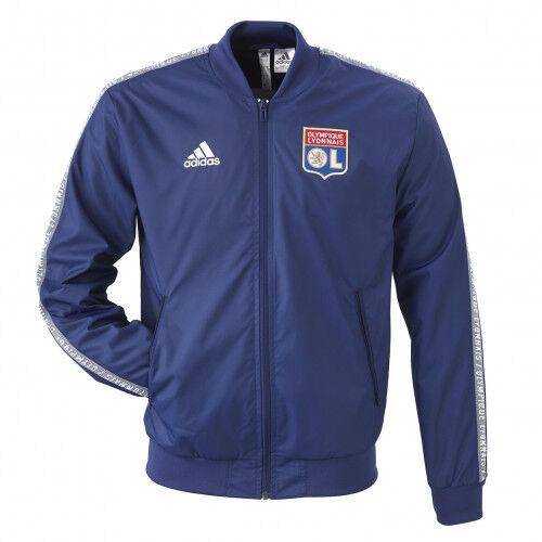 adidas Veste Anthem Ligue 1 OL adidas  - XS OL - Foot Lyon