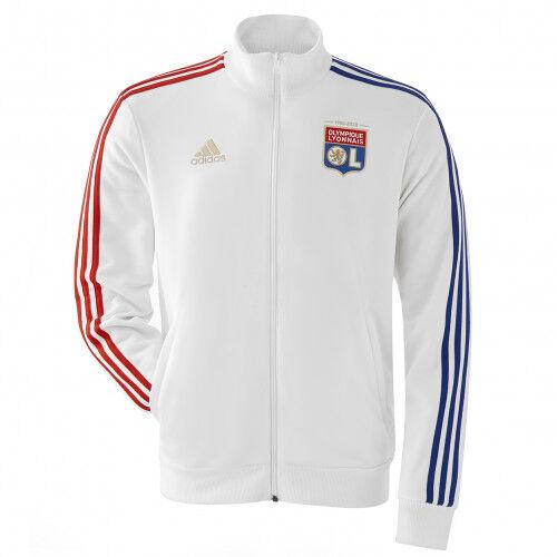 adidas Veste Anthem Homme Ligue 1 20/21  - S OL - Foot Lyon