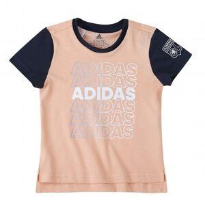 adidas T-shirt fille adidas  - 3-4A OL - Foot Lyon - Publicité