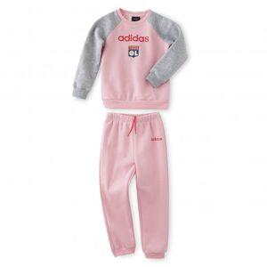 adidas Ensemble survêtement rose fille  - 18-24M OL - Foot Lyon - Publicité