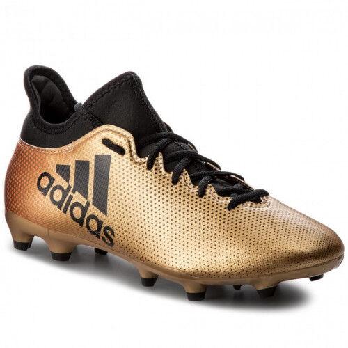 adidas Chaussure X 17.3 FG PE18  - 41 1/3 OL - Foot Lyon