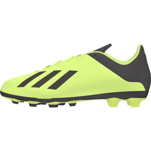 adidas Chaussure X 18.4 FxG Jaune Junior  - 37 1/3 OL - Foot Lyon
