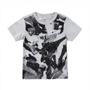 adidas Tee shirt Gris adidas Junior  - 5-6A OL - Foot Lyon - Publicité