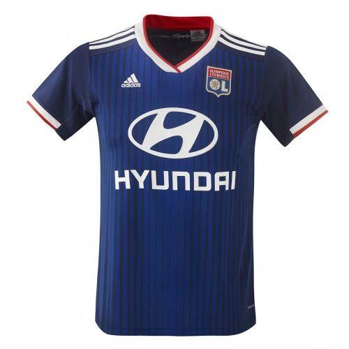 adidas Maillot extérieur Adulte Olympique Lyonnais 2019/2020  - M OL - Foot Lyon