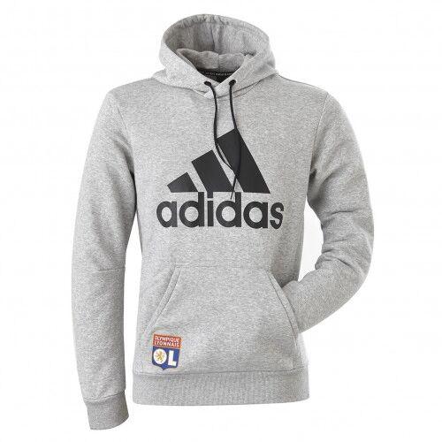 adidas Sweat-shirt adidas adulte gris  - M OL - Foot Lyon
