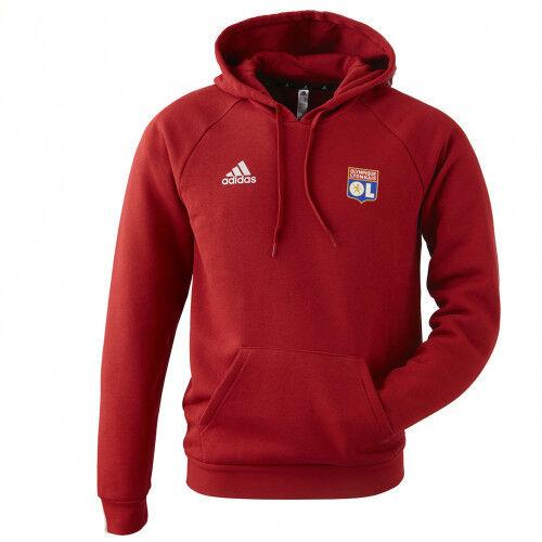 adidas Sweat-shirt TAN HOODED rouge adidas Homme  - L OL - Foot Lyon