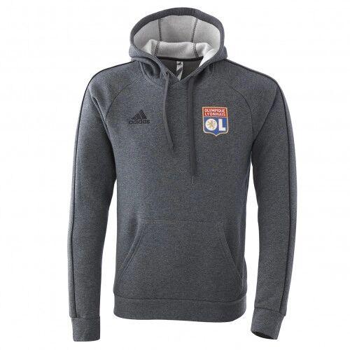adidas Sweat à capuche staff OL 20-21  - L OL - Foot Lyon