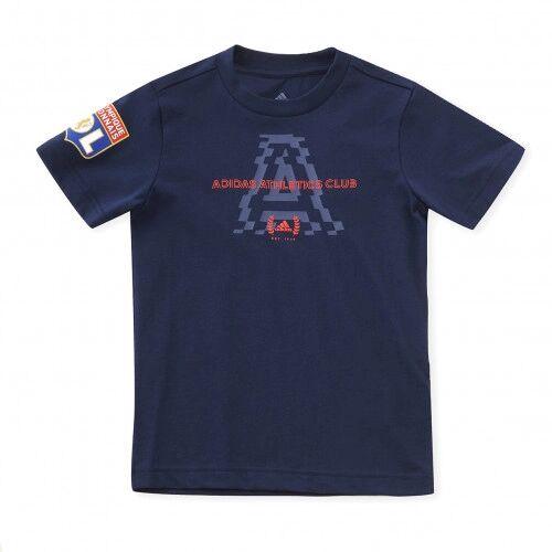 adidas T-shirt adidas Athletics Club Graphic  - 5-6A OL - Foot Lyon