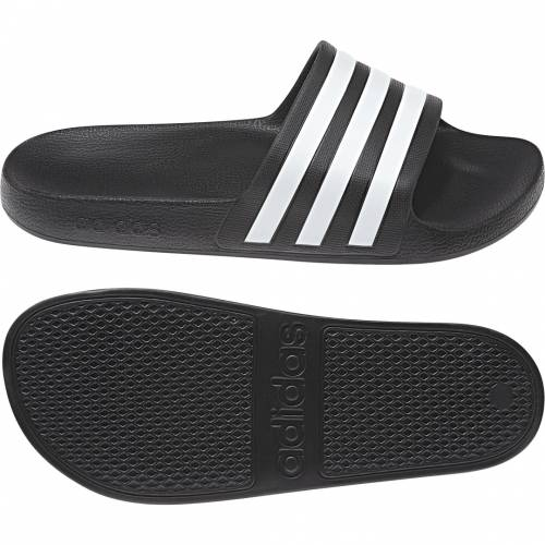 adidas Claquettes noir adidas  - 40 1/2 OL - Foot Lyon