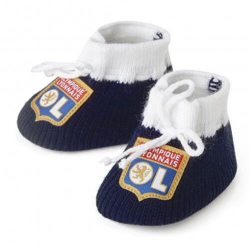 Olympique Lyonnais Chaussons naissance bébé OL OL - Foot Lyon