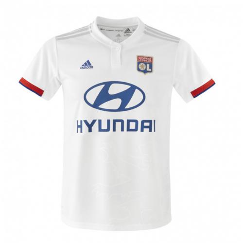 adidas Maillot domicile Adulte 19-20 + Badge L1  - S OL - Foot Lyon