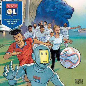 Olympique Lyonnais Bande dessinée Qui a volé OL - Foot Lyon - Publicité