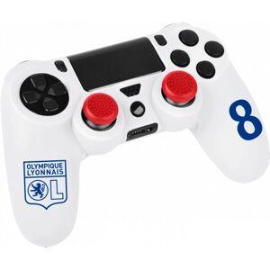 Olympique Lyonnais Kit pour manette ps4 blanc  OL - Foot Lyon - Publicité