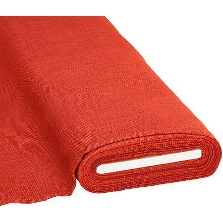 Toile de jute, rouge, 260 g/m²