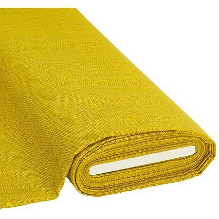 Toile de jute, jaune, 120 cm
