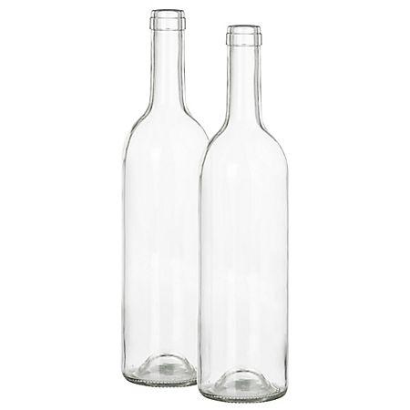 Bouteilles en verre pour la déco, 31,5 cm, 2 pièces