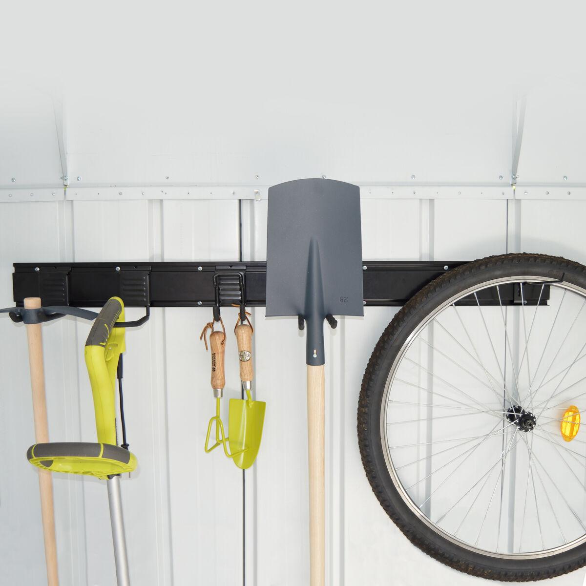Cémonjardin Kit de rangement modulable KEEPTOOL pour abris de jardin ou garage