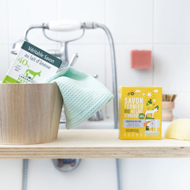 Laboratoire Paysane Savon lait d'ânesse biologique 40%