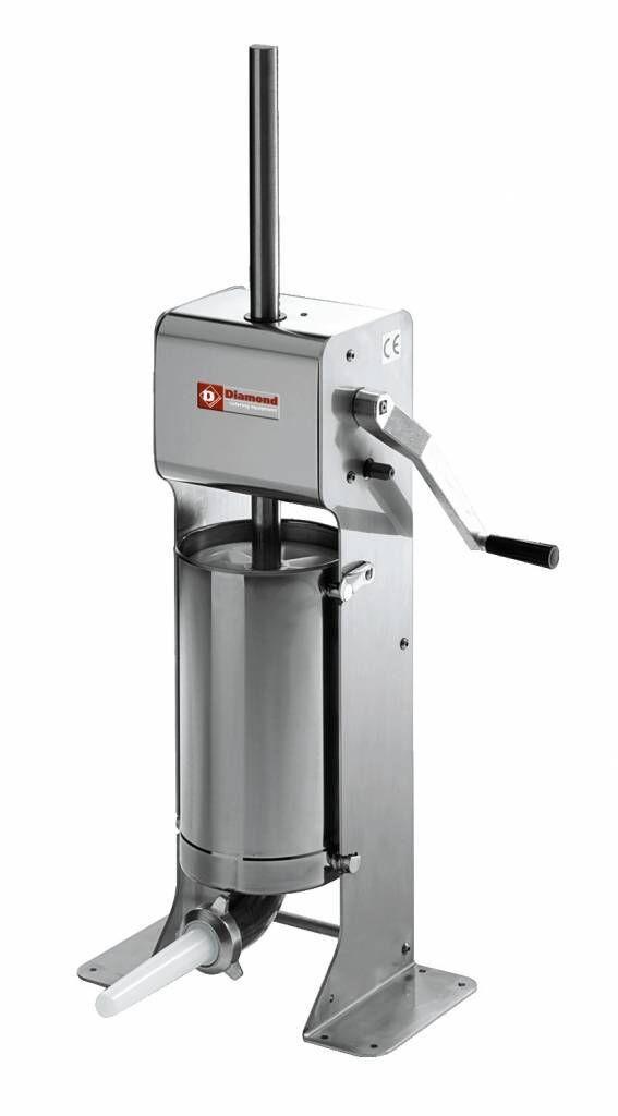 Diamond Poussoir manuel vertical 12 litres INOX 435x260x(h)1100mm