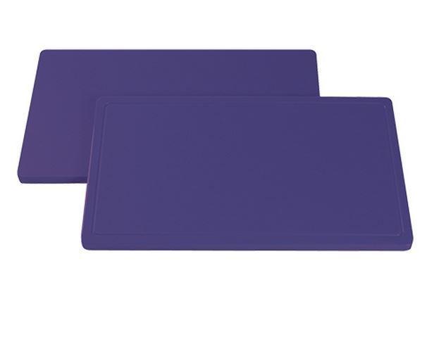 CHRselect Planche à Découper anti allergénique sans Rainure - Planche à Découper - HDPE 500