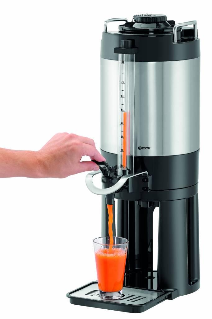 Bartscher Distributeur Isotherme Double Paroi 8 Litres Robienet de Vidange Amovible 235x350x(H)635mm
