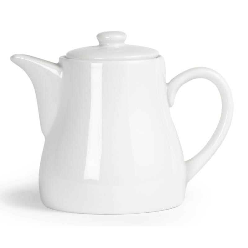 CHRselect Pot à Thé Blanc - Olympia - 795ml - 4 Pièces