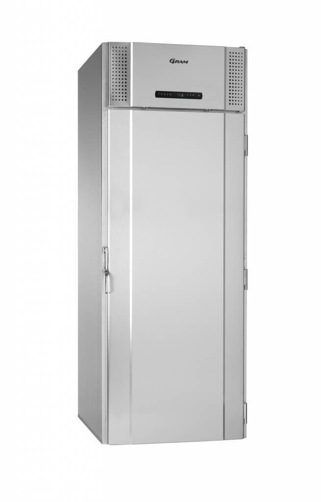 Gram Roll-in Réfrigérateur INOX Gram M 1500 CBG Boulangerie 1422L -5/+12°C 880x1088x2330(h)mm