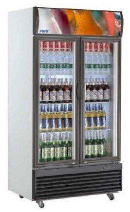 Saro Armoire Réfrigérée Ventilée 800 Litres 8 Etagères Réglables 1000x730x2036(h)mm