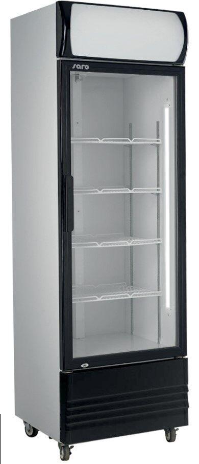 Saro Refroidisseur de Bouteille Avec porte en verre Éclairage led 455 Litres 700x610x(H)2079mm